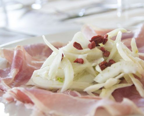 Piatto del giornoi 141 Cafè Reggio Emilia Spalla di San Secondo